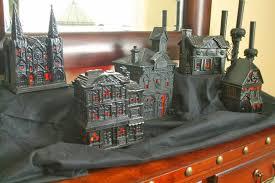 boo haunted halloween village