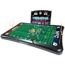 table top football games nfl vibrating football game c 1990 manufactured by excali flickr
