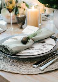 how to set a table with napkin rings marie flanigan interiors