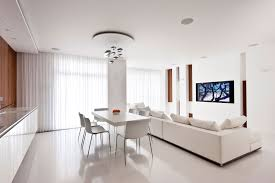 white interiors homes white apartment interior by alexandra fedorova