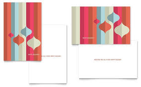 free greeting cards templates for word free greeting card