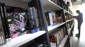 Batman Bookcase Specialty Shops For Comic Book Buffs For The Nerd In The Herd