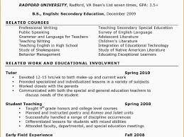 College Tutor Resume 100 Sample Resume For English Tutors Sample Resume For