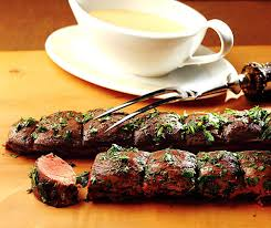 cuisiner le chevreuil sans marinade selle de chevreuil sauce cannelle betty bossi