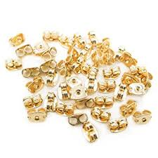 gold earring backs fly shop gold filled earring backs 5 pairs ear nuts