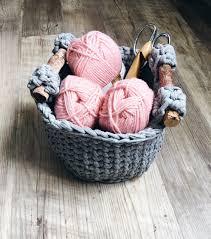 crochet basket pattern crochet storage basket home decor
