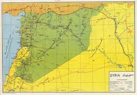 syrian desert afternoon map 14 maps of syria u0027s history