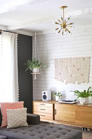 Hanging Decor From Ceiling by Hanging Plant Shelf Diy U2013 A Beautiful Mess