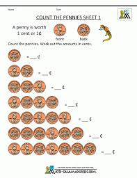 free printable money math worksheets koogra