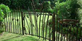 fence fence gate design unusual wrought iron fence gate design