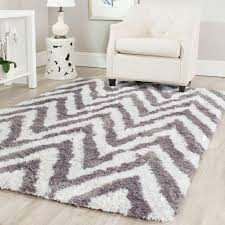 Area Rugs Greenville Sc Safavieh Dallas Shag Ivory Gray 6 Ft X 9 Ft Area Rug Sgd258f 6