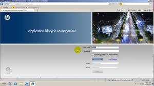 hp alm create users domains projects test case web post box