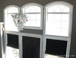 How To Trim Windows Interior Remodelaholic How To Install Molding And Trim On Arched Windows