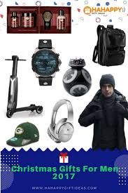 25 unique christmas gift ideas for men 2017 useful u0026 inspires hahappy