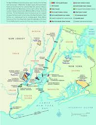 New York And New Jersey Map by Rti
