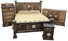 bedroom furniture for sale texas rustic wood furniture tooled leather custom furnishings