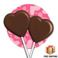 heart lollipop chocolate heart lollipops tom wat fundraising