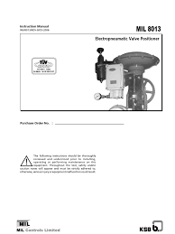mil8013 instructionmanual valve relay