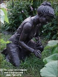 smartness design bronze garden statues innovative decoration 1000