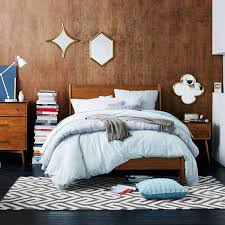 Modern Furniture Images by Mid Century Bed Acorn West Elm