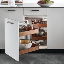 blind corner kitchen cabinet inserts kessebohmer magic corner one for blind corner cabinets silver swing left frame only 546 17 908