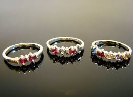 grandmothers rings mothers and grandmothers rings sterling silver 1 to 5 gems you