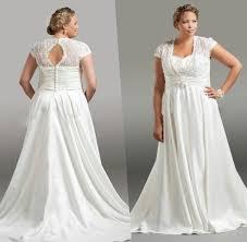 white plus size wedding dress pluslook eu collection