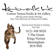 12 tattoo shops in birmingham katwalk ink tattooist in