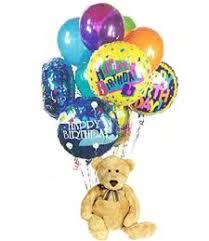 teddy balloons growerflowers happy birthday teddy balloons