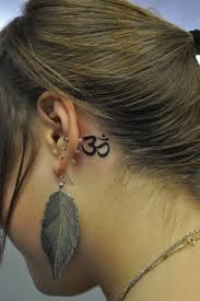 Tattoo Ideas For Behind Ear 30 Really Awesome Behind The Ear Tattoos Creativefan