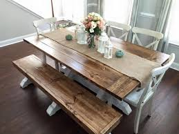 Dining Room Tables Bench Seating Best 20 Dining Table Bench Seat Ideas On Pinterest Dining Table
