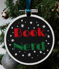 12 ornaments for book and their bookish trees