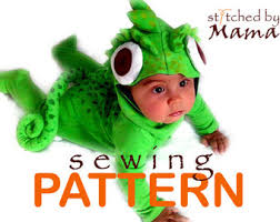 Sewing Patterns Halloween Costumes Baby Costume Pattern Etsy
