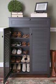Entryway Shoe Storage Cabinet | entryway 5 shelves shoe drawers shelves and storage