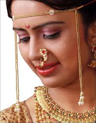 Buy Maharashtrian Traditional Nath Clip Maharashtrian Bridal Jewellery 11 Classic Pieces With Names