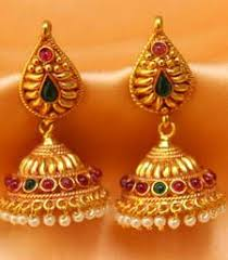 124 best earrings images on india jewelry gold