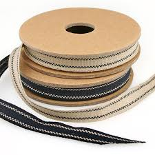 cotton ribbon cotton kraft ribbon 2 designs pipii