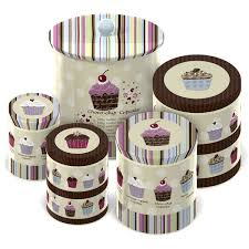 cupcake canisters for kitchen cupcake canisters my dream cupcake kitchen pinterest kitchens