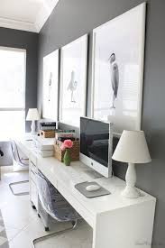 Home Office Desks For Two Home Office Desks Adorable Picture Create A Sleek Modern Setup