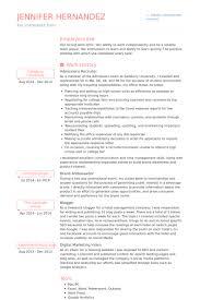 Digital Marketing Consultant Resume Chic Inspiration Recruiter Resume 12 Senior Recruiter Or