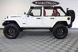 white jeep 4 door 2016 jeep wrangler rubicon hard rock unlimited white