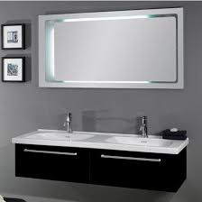 awesome abersoch 55 inch wall mounted double sink bathroom vanity