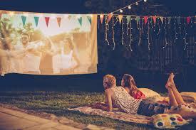 Backyard Movie Theatre by How To Project A Movie Outside Popsugar Australia Tech