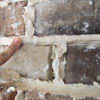 How To Install Thin Brick On Interior Walls Installing Brick Veneer Inside Your Home U2022 Vintage Revivals