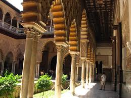 Moorish Design Alcazar Of Seville In The Tradition Of Moorish Architecture
