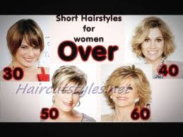 short hairstyles for women over 30 50 haircut styles