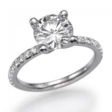 1 carat engagement rings diamond engagement ring with side stones ballerina 1 carat 1 00