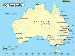 map of australia political australia political map by maps from maps world s