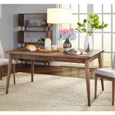Mid Century Dining Room Furniture Simple Living Element Mid Century Dining Table Walnut N A