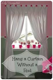 How To Hang Bay Window Curtains How To Hang Curtains Without A Rod If You U0027re Looking For A